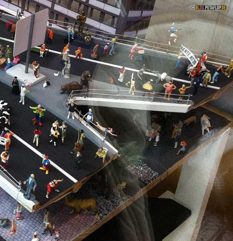 Tausendfüßler-Modell Detailansicht