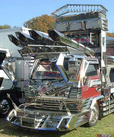 Japanese Bling Bling Truck