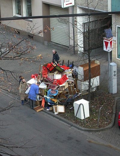 Sperrmüll Worringer Strasse Düsseldorf
