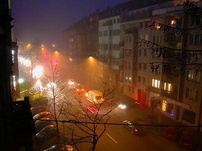 Suppe Fog Worringer Str. Düsseldorf 2