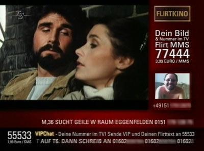 Tele5 Amitiville SMS-Werbung 2