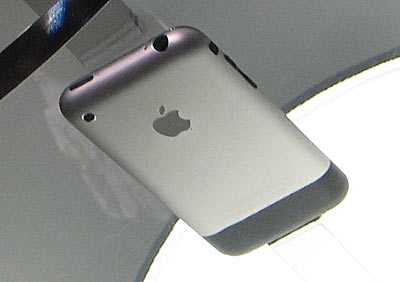 Apple iPhone back view