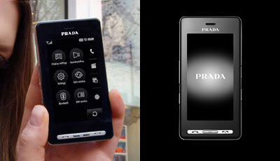 Prada LG Touchscreen Phone Handy Mobiltelefon Cellphone