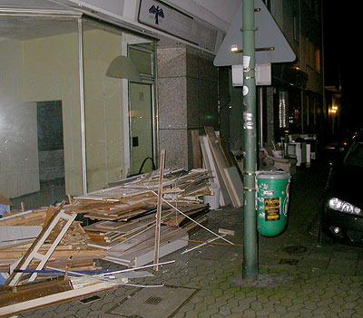 Sperrmüll Gerresheimer Str. Düsseldorf