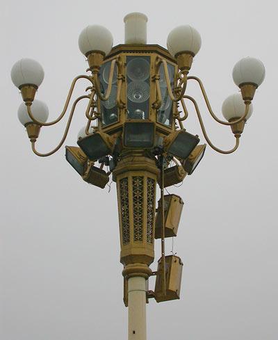 Strassenlaterne Platz des himmlischen Friedens Peking lantern tianmen square Beijing