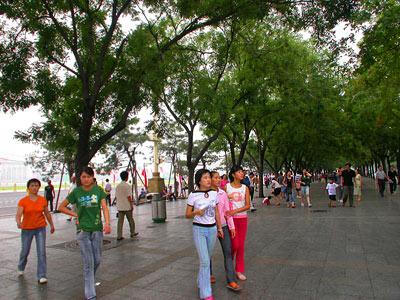 Tiananmen Square - Platz des himmlischen Friedens 7