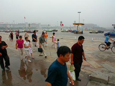 Tiananmen Square - Platz des himmlischen Friedens 5