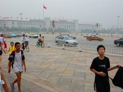 Tiananmen Square - Platz des himmlischen Friedens 3