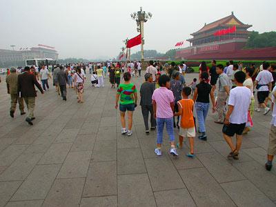 Tiananmen Square - Platz des himmlischen Friedens 6