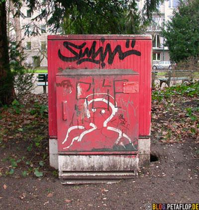 Sulin Graffiti-Tag Düsseldorf-Hofgarten