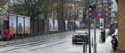 Toyota Auris - Plakatkampagne - Campaign - Gerresheimer Strasse - Düsseldorf