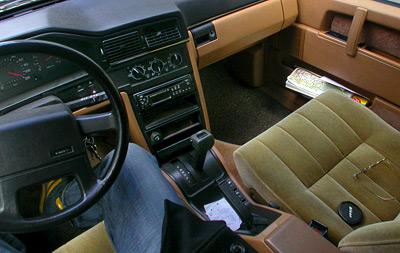 Volvo 760 GLE - Innenraum - interior