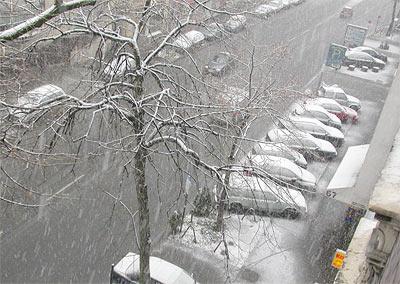 Volvo im Schnee