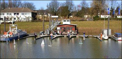 Modellboot Segelregatta