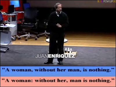 Juan Enriquez on TED Talks: Decoding the future with genomics