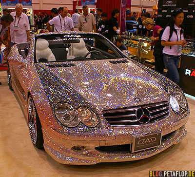 Mercedes-SL600-brilliants-Brillianten-Diamonds-SEMA-Car-Show-Las-Vegas-DAD-Japan