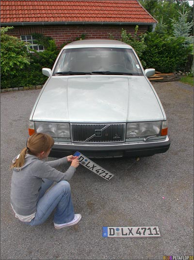 Volvo-760-GLE-Nummernschilder-Number-Plates-Gescher-DSCN7184