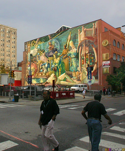 Day 111 philadelphia for Bank ballroom with beautiful mural nyc