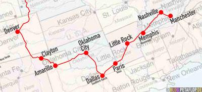 North-America-2007-BLOG-PETAFLOP-DE-Map-itinary-travel-route