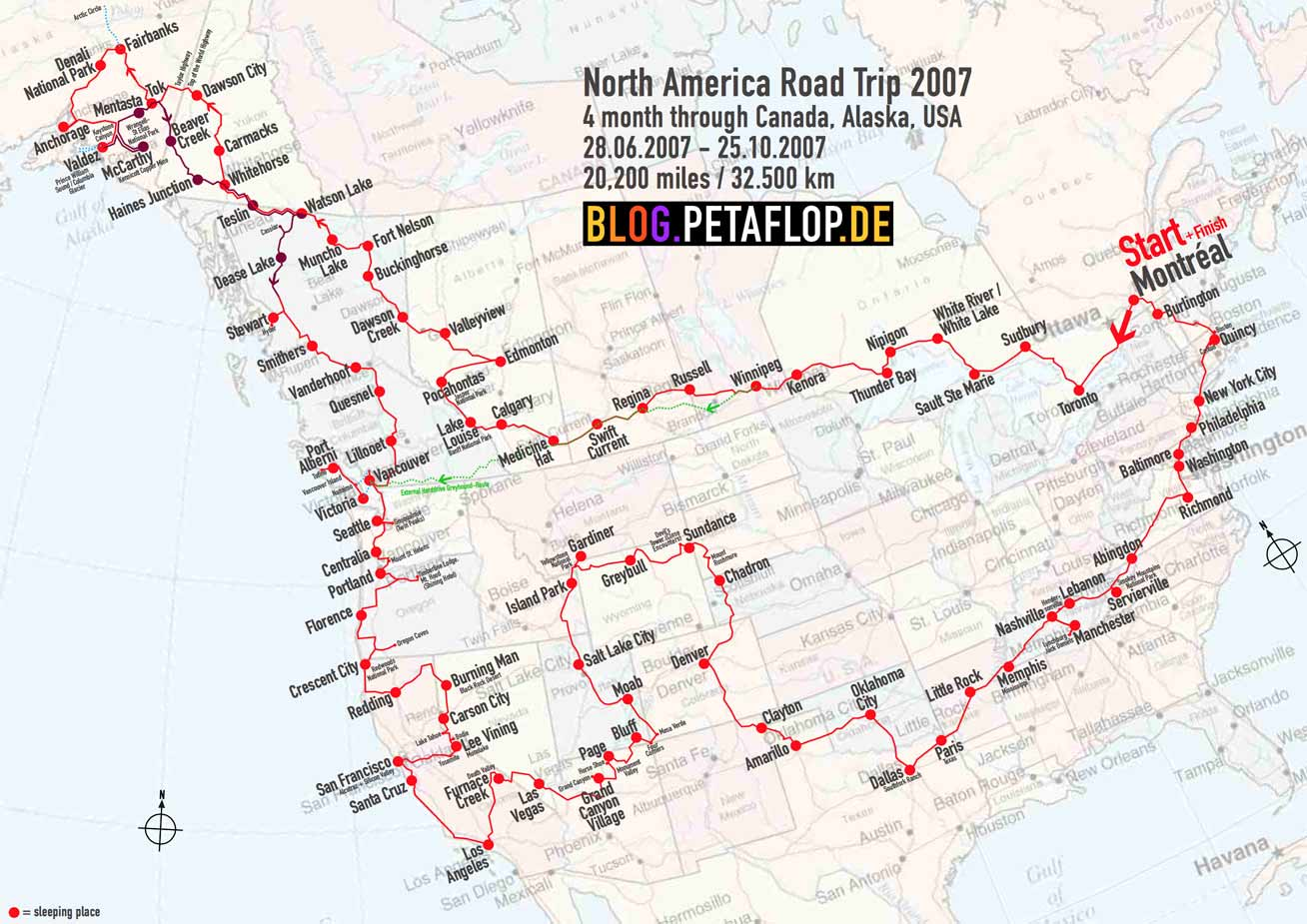 20,000 Miles Road Trip: Canada, Alaska, USA – Peter ... on map of bc canada, map vancouver to alaska, large print map of alaska, map of western canada and alaska, us map alaska, vancouver map canada alaska, map of ak, map of usa with hawaii, map of alaska and canada together, map of canada and greenland, map of northern alaska, map of russia and canada, cities in russia near alaska, northern canada and alaska,