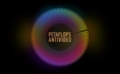 Petaflops-Antivideo-Light-Art-Slide-Projection-Logo-color