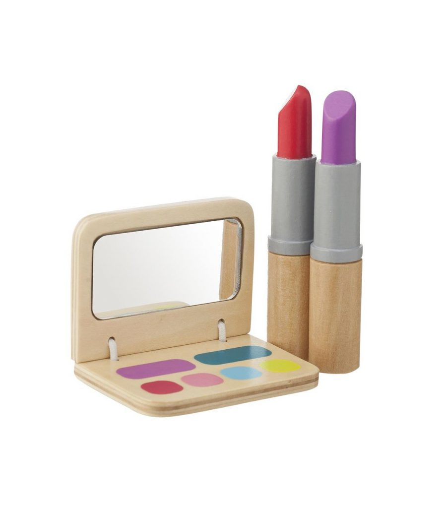 HEMA Holzspielzeug Make-Up Set wood toy wooden toys